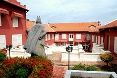 Melaka, Malaysia: 1650 Dutch Stadthuys Royalty Free Stock Photography