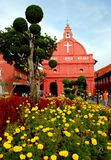 Melaka, Malaysia: Igreja de 1753 Dutch Imagens de Stock Royalty Free