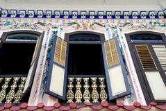 Melaka, Maleisië: Het Huis van Cina van Bukit Royalty-vrije Stock Foto's