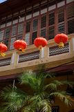Melaka, Malesia Lanterna cinese di nuovo anno immagine stock libera da diritti