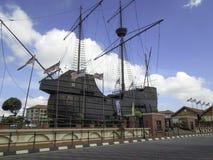 Melaka maritimt museum & sjö- museum, Malaysia Royaltyfria Foton