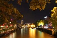 Melaka at night, Malaysia Royalty Free Stock Image