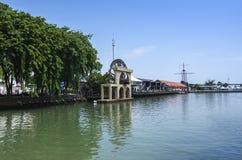 Melaka River, Malaysia Royalty Free Stock Images