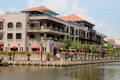 Melaka River Royalty Free Stock Images