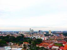 Melaka-Stadt-Ansicht Lizenzfreies Stockfoto