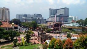 Melaka-Stadt-Ansicht Stockfotografie