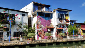 Melaka Street Art Royalty Free Stock Photo