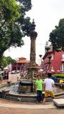 Melaka Victoria fountain Stock Photography