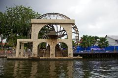 Melaka Water Wheel Stock Photography
