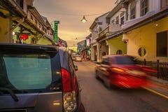 Melakastraat Maleisië royalty-vrije stock foto's