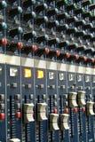 melanżeru dźwięk Zdjęcie Stock