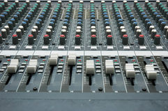 melanżeru dźwięk Obraz Stock