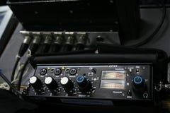 melanżeru zawodowca dźwięk Fotografia Stock