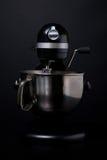 melanżeru czarny srebro Zdjęcie Stock