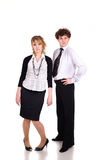 Melancholic business people Stock Photo