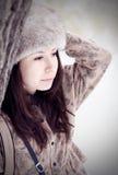 melancholic kvinna Royaltyfri Foto
