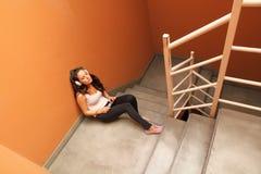 Melancholic Stairway Stock Image