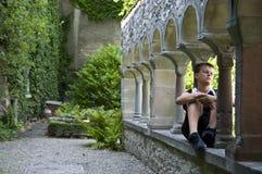 Melancholic teenage boy Royalty Free Stock Photo