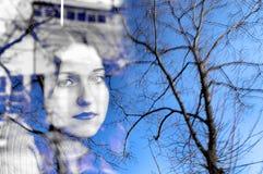 Melancholische Erinnerung stockbilder