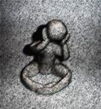 Melancholische grijze dag vector illustratie