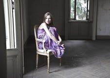 Melancholische schoonheid Royalty-vrije Stock Afbeeldingen