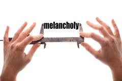 Melancholy Stock Photography