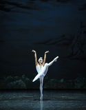 Melancholy linger at Lakeside-The Swan Lakeside-ballet Swan Lake Stock Photos