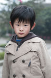 Melancholy young boy. Has some not to be unhappy Stock Photography
