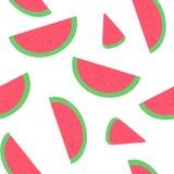 A melancia corta a ilustração Imagem de Stock Royalty Free