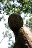 Melancolia mim Homburg do mau da escultura Fotos de Stock Royalty Free