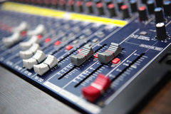 melanżeru dźwięk Fotografia Stock