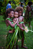 Melanesian children Stock Photos