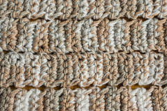Melange background from knitted strips Stock Images