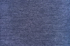 Melange blue woolen knitted fabric Stock Photography