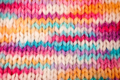 Melange knitted background Stock Photography