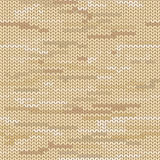Melange knitted seamless pattern Stock Images
