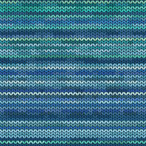 Melange knitted seamless pattern Stock Photography