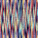 Melange knitting. Seamless pattern of the melange knitted texture Royalty Free Stock Photo