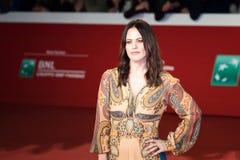 Melania Dalla Costa cammina il tappeto rosso fotografia stock