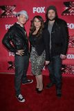 Melanie Amaro, Chris Rene, Josh Krajcik Stock Image