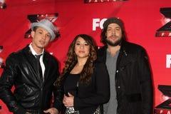 Melanie Amaro, Chris Rene, Josh Krajcik Royalty Free Stock Images