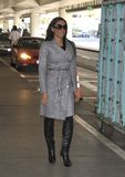 Melanie Blatt aka Scary Spice at LAX Stock Photo