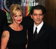Melanie Griffith et Antonio Banderas Images libres de droits