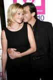 Melanie Griffith y Antonio Banderas foto de archivo