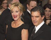 Melanie Griffith y Antonio Benderas en 64.o Tony Awards en 2010 Fotos de archivo libres de regalías