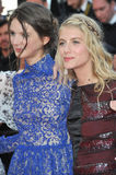 Melanie Laurent & Josephine Japy Stock Photo