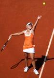 Melanie Oudin (de V.S.) in Roland Garros 2011 Royalty-vrije Stock Afbeeldingen
