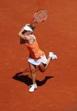 Melanie Oudin (de V.S.) in Roland Garros 2011 Stock Fotografie
