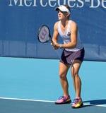 Melanie Oudin (USA), professional tennis player Stock Photo