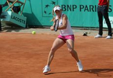 Melanie OUDIN (USA) at Roland Garros 2010 Stock Image
